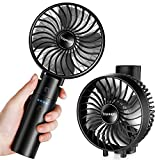 toyuugo Handheld Electric USB Fan, Mini Portable Outdoor Personal Fan, Foldable Desktop Cooking