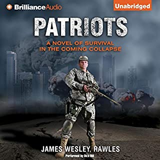 Patriots audiobook cover art