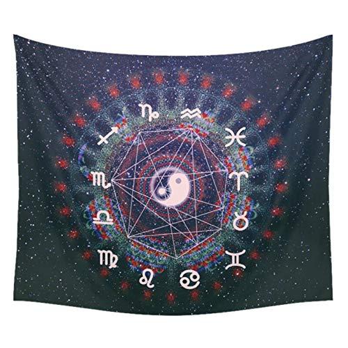 BOBSUY waarzeggerij Tarot wandtapijt 150cm*130cm Astrologie Paviljoen Decoratie Home Wandachtergrond 7