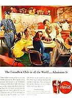 303F 1946年のレトロ広告 コカコーラ Coca-Cola Coke