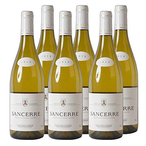 Sancerre Domaine Thierry Merlin Cherrier 2019 hochwertiger Weißwein Frankreich trocken (6x 0.75 l)
