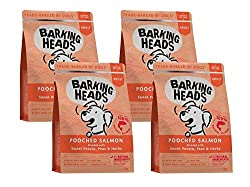 45% single protein salmon 100% natural ingredients A hypoallergenic rice-free formula for the fussiest of dogs