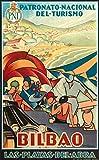 Bilbao Playa Poster Reproduktion/Format Size 50 x 70 cm
