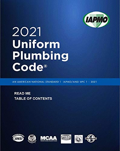 2021 Uniform Plumbing Code with Tabs