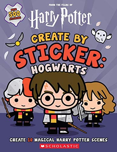Pegatina Harry Potter marca Scholastic Inc.
