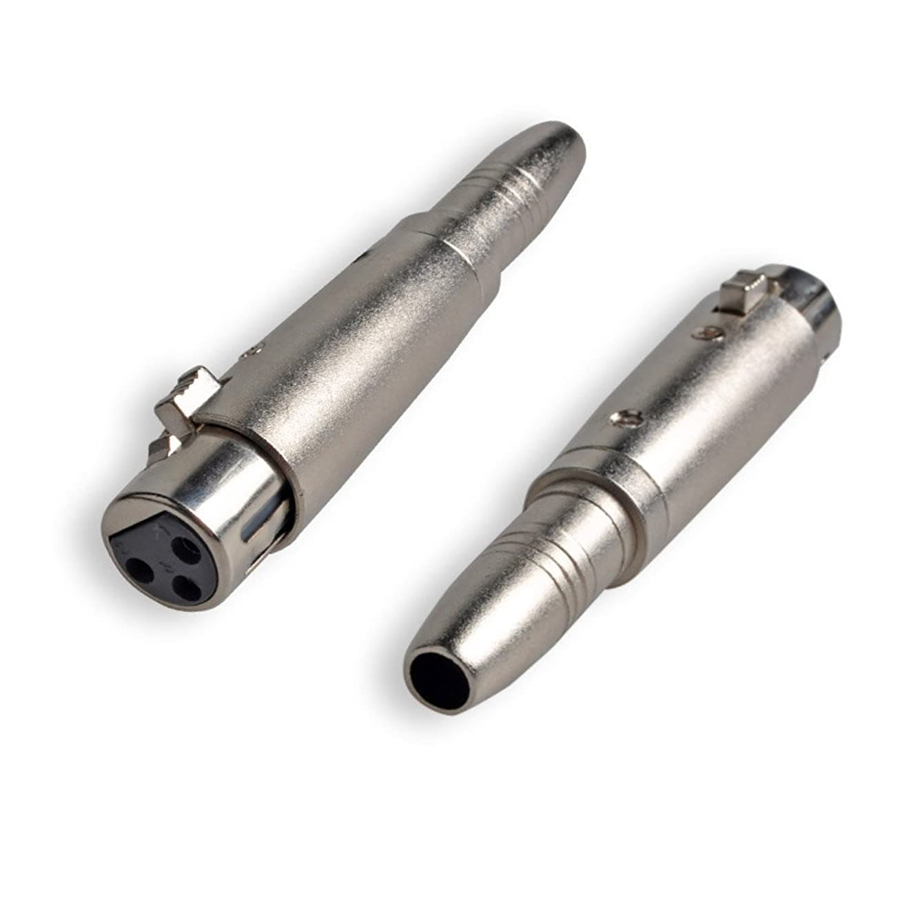 XLR to 6.35mm Adapter, Conwork 2-Pack Mono 1/4