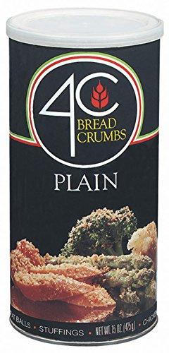 4C Bread Crumbs Plain, 15 oz