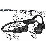 Bone Conduction Headphones Swimming Headphones Bluetooth IPX8 Waterproof Bone Conduction Headphones...