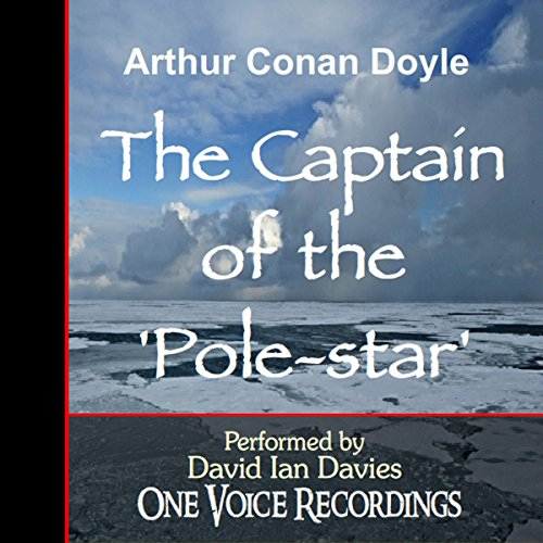 The Captain of The Pole-star audiobook cover art