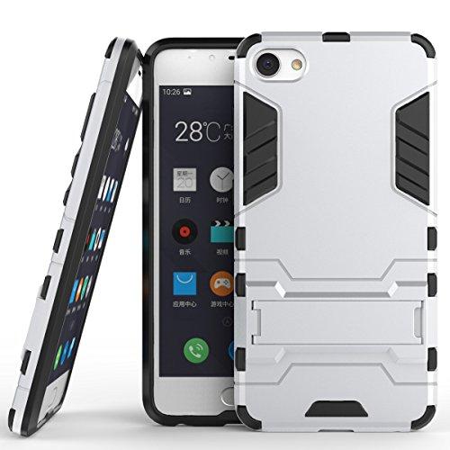 Mobile Telefono Custodie Cover, 2 in 1 ferro Armatura stile duro Hybrid Dual Layer armatura Defender PC + TPU dura protettiva di caso con il basamento della cassa antiurto per Samsung Galaxy J5 2016 J