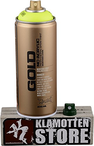 Bombolette spray Montana Gold Fluorescenti (D – giallo neon