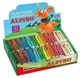 Alpino DP000915 - Plastilina, 24 unidades