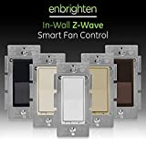 GE Enbrighten Z-Wave Plus Smart Fan Control, Works with Alexa, Google...
