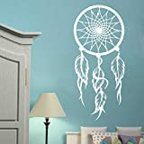 jiuyaomai Dreamcatcher Wandtattoo Symbol Amulett Wandaufkleber Home Living Room Decor Abnehmbare...