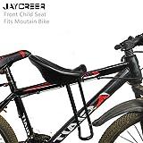 Asiento JayCreer Universal de Bicicletas de montaña del bebé del niño/niños Plegable portátil de Bicicletas Carrier Adapta Moutain Bike (Color : 3CM 6CMb)