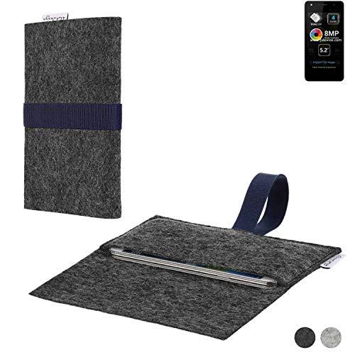 flat.design Handy Hülle Aveiro für Allview A9 Lite passgenaue Filz Tasche Case Sleeve Made in Germany