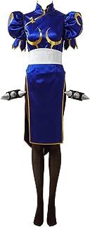 Women's Dress for Street Fighter V Chun Li Cosplay Costume