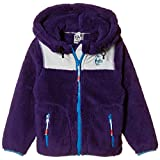 [チャムス] パーカー Kds Elmo Fleece Full Zip Parka・PPL/GY・KS キッズ Purple/Gray 日本 S (日本サイズS相当)