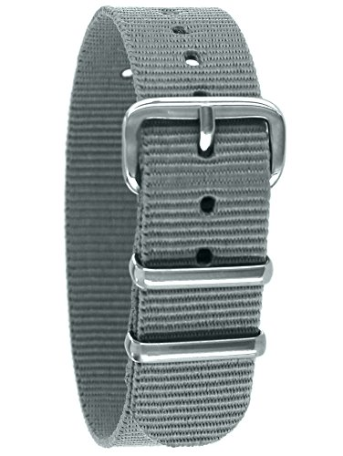 Pacific Time Unisex Nylon Uhrenarmband 10005