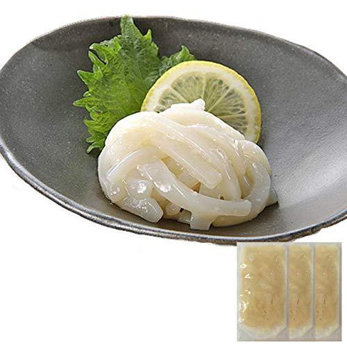 敬老の日 ギフト イカの麹和え(白作り)60g ×3袋 ヤマキ食品 イカ屋荘三郎