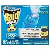 Raid Max Concentrated Deep Reach Fogger (2.1 Ounces, 3 count)