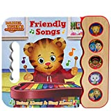 Daniel Tiger's Friendly Songs: Daniel Tiger's Neighborhood (Early Bird Sound Books 5 Button)