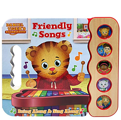 Daniel Tiger's Friendly Songs: Daniel Tiger's Neighborhood (Early Bird Sound Books 5 Button) Board book -$6 (60% Off)