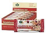Brookfarm Barritas de Muesli Tostado con Macadamia y Arándanos, Caja de 12x1.2oz (12x35g)