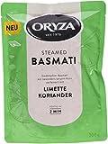 Oryza Pouch Steamed Basmati Limette & Koriander, 6er Pack (6 x 200 g)