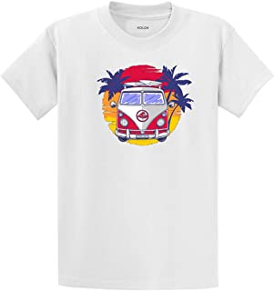 Koloa Surf Custom Graphic Heavyweight Cotton Tee's in Regular, Big and Tall