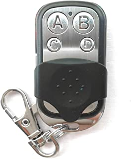 Portable Wireless 4333.92 Mhz Remote Control Copy Code Remote 4 Channel Electric Cloning Gate Garage Door Auto Keychain