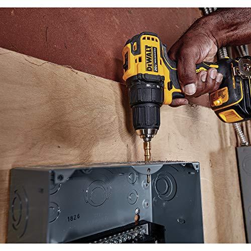 DEWALT 20V MAX Cordless Drill / Driver Kit, Compact, 1/2-Inch (DCD708C2)