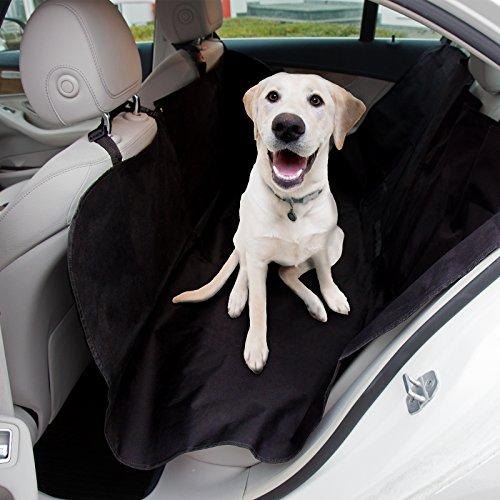 casa pura® Autoschondecke | für Rückbank und Kofferraum | Autoschutzdecke für Hunde und Nutzlasten | Größe ca. 145 x 150 cm | Hundeschutzdecke für Auto