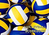 Volleyball Scorebook: Score Sheets For Record Match Statistics