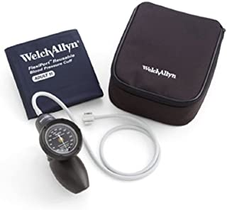 Welch Allyn DS58-11 Gauge with Durable FlexiPort Cuff and Nylon Zipper Case, Adult
