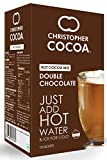 Christopher Cocoa, double chocolate hot cocoa mix, 10 sachets