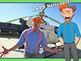 Blippi and the LAPD Helicopter - Educational Videos for Kids