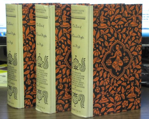 THE ARABIAN NIGHTS ENTERTAINMENT: THE BOOK OF THE THOUSAND NIGHTS AND A NIGHT - VOLS. I - VI - THE COMPLETE BURTON TRANSLATION WITH COMPLETE BURTON NOTES, THE TERMINAL ESSAY, A COMPLETE INDEX AND 1001 ILLUSTRATIONS BY VALENTI ANGELO (VOLUMES 1 - 6 IN THREE BOOKS.)