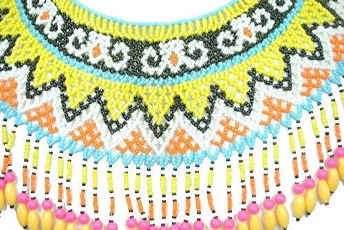 Terrapin Trading Fairtrade Womens Borneo Tribal Dayak Guerrier cérémonieux Collier Art Artefact
