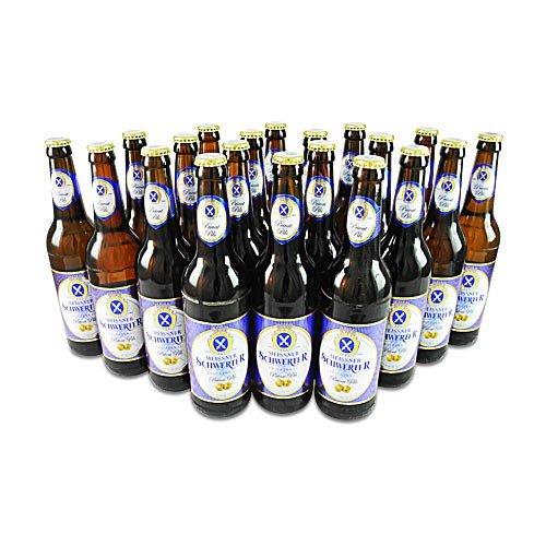 Meissner Schwerter Privat Pils (20 Flaschen Bier à 0,5 l / 4,9% vol.)