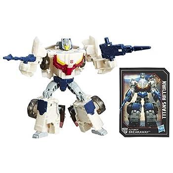 Transformers Generations Titans Return Autobot Breakaway and Autobot Throttle