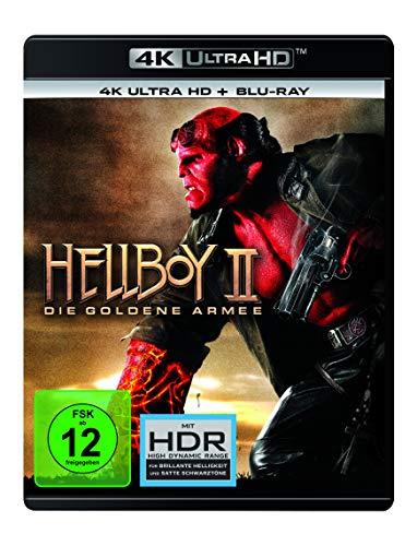 Hellboy II: Die Goldene Armee (4K Ultra HD) (+ Blu-ray 2D)