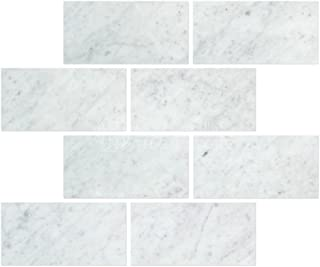 Best hampton carrara polished marble subway tile Reviews