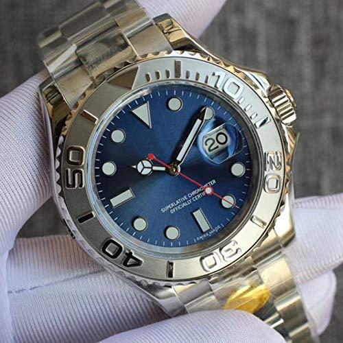 MKOIJN Horloges Luxe Merk Automatisch Mechanisch Horloge Voor De Heren Horloges Heren 40MmSaffierglas Lichtgevende Datum Roestvrij Staal