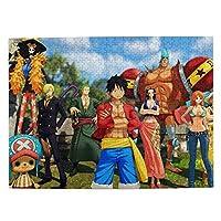 ワンピース One Piece2 ジグソーパズル 1000ピース 知的ゲーム 家族オモチャ 子供向けパズル キッズ 孫 人気 誕生日プレゼント 贈り物