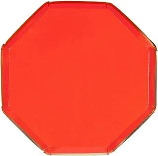 Meri Meri, Red Side Plates, Birthday, Party Decorations, Dinnerware - Pack of 8