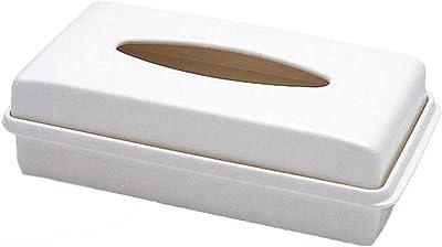 国際化工 Excellence 新ティッシュボックス(深型) アイボリーホワイトM266SIW