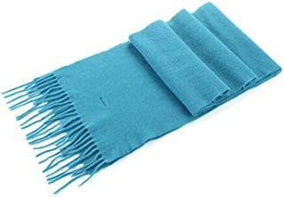 ZCHWU Scarf, Men, Ladies Scarf, Fashion Spring, Autumn And Winter Shawl, High Quality Wool Scarf, Best Gift Size 186 * 30Cm Simple and practical product (Color : Light blue, Size : 186 * 30cm)