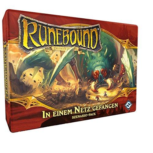 Fantasy Flight Games FFGD0143 Runebound-In einem Netz gefangen