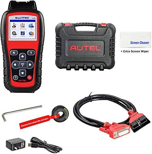 Autel MaxiTPMS TS508 with Extra Screen Wiper TPMS Relearn Reset Diagnosis Tire Sensor DTCs Tool product image